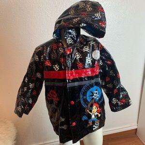 children's raincoat Disney pirate jake
